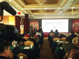 Conférence internationale en Chine