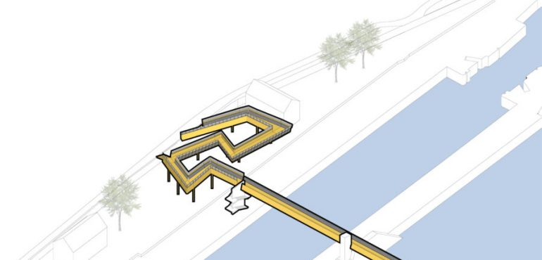 Variante pour la rampe - non retenue