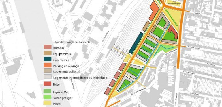 BOulogne Centre GARE __Projet Ensemble-légende