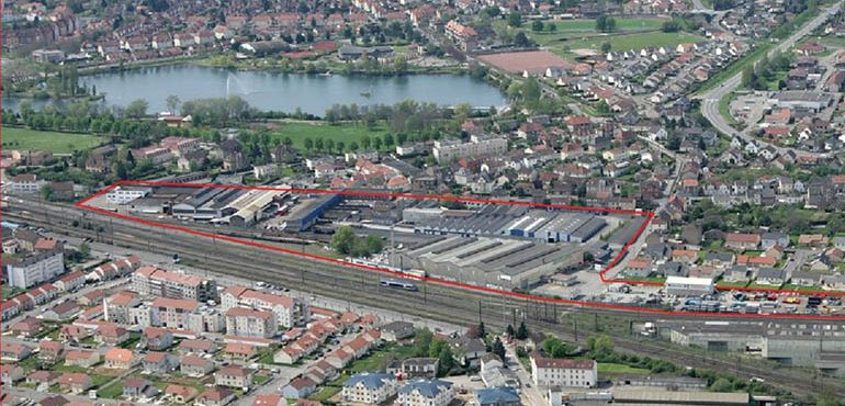 Site Halberg_ Mondelange vue aérienne 1