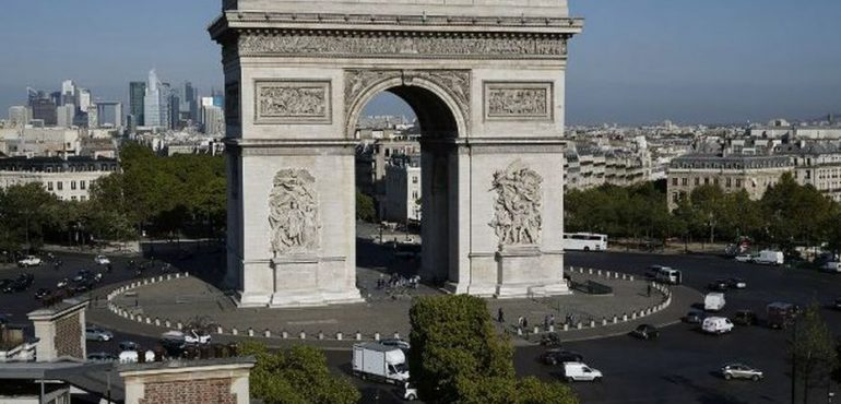 Arc de Triomphe - Aérien