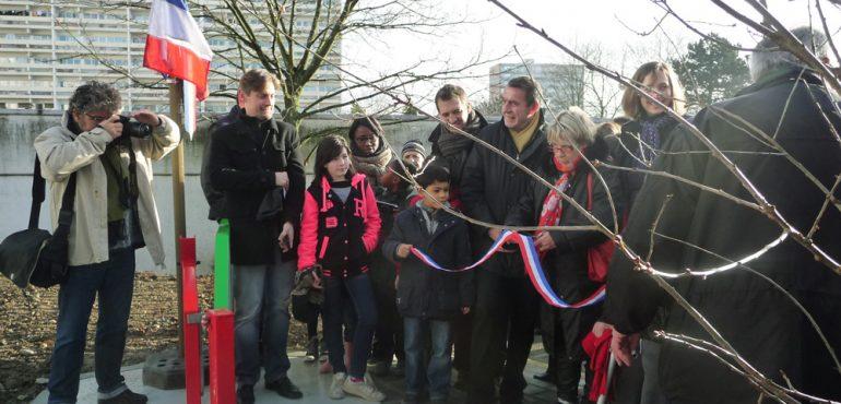 Inauguration des premières tranches de travaux de la requalification du quartier de La Redoute à Fontenay-sous-Bois