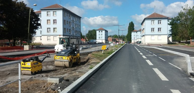 Seconde phase du tramway de l'agglomération du Douaisis